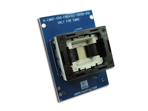 N-EMMC-050-FBGA153-110100-01O - Socket Adaptor   Dediprog Technology